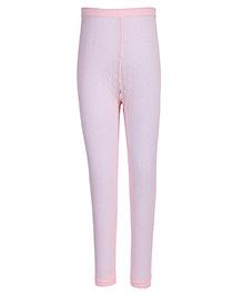 Jefferies Socks  Frill Pattern Tights - Pink