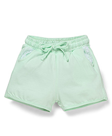 Cucumber Drawstring Shorts - Green