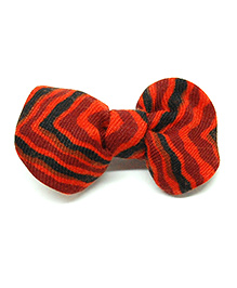 Eternz Haedos Collection Bow Broach - Red