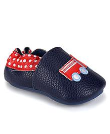 juDanzy Truck Print Shoes - Navy Blue