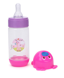 1st Step Feeding Bottle Pink - 125 Ml