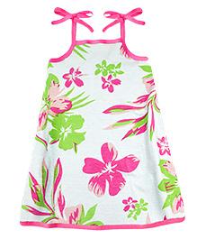 A.T.U.N. Sarah Dress Aloha Print - Pink
