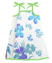 A.T.U.N. Sarah Dress Aloha Print - Blue