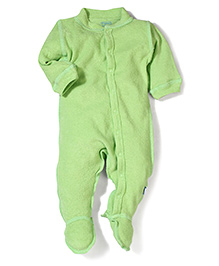 I play Half Sleeves Bodysuit - Green