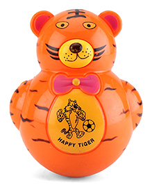 Playmate Roly Poly Tiger Tumbler - Brown