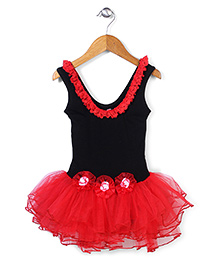 Wenchoice Fancy Dress - Black & Red