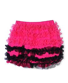 Wenchoice Ruffle Baby Skirt - Dark Pink
