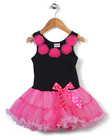 Wenchoice Bow Dress - Pink & Black