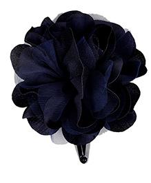 Miss Diva Single Flower Tic Tac - Navy Blue