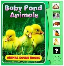 Animal Sound Books - Baby Pond Animals