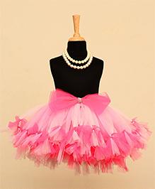 TU Ti TU Butterfly Knot Tutu Skirt - Pink