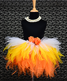 TU Ti TU Flower Girl Tutu Skirt - Multicolor