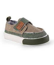 Cute Walk by Babyhug Casual Shoes - Olive Green