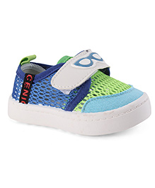 Cute Walk by Babyhug Casual Shoes Goggles Print - Green Blue