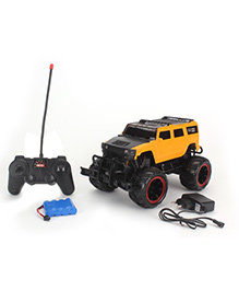 Toymaster Remote Control Cross Country Pick Up - Yellow And Black - 946040