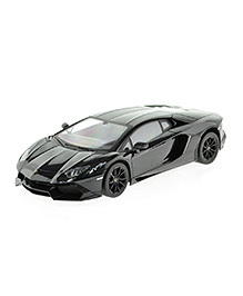 Flyers Bay Remote Control Licenced Lamborghini Aventador LP700 Car Toy With Shock Absorbors And LED Lights - Grey