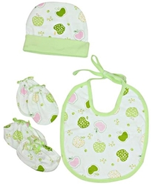 Combo Pack Of Baby Cap Booty And Bib