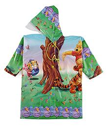 Winnie The Pooh Hooded Raincoat - Multi Color