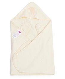 Clevamama Splash N Wrap Apron Bath Towel Extra Large - Cream