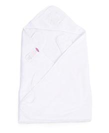 Clevamama Splash N Wrap Apron Bath Towel Extra Large - White