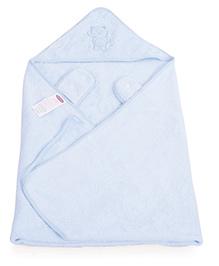 Clevamama Splash N Wrap Apron Bath Towel Extra Large - Blue