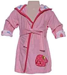 Carters - Bathrobe with Hood And Fish Print
