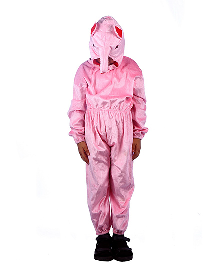 SBD Pig Fancy Dress Costume For Kids - Pink
