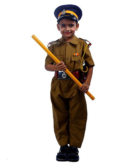 SBD Police Officer Dress Costume - Khaki