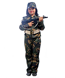 SBD Army Community Helper Fancy Dress Costume - Camoflauge
