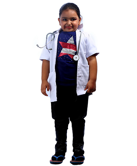 SBD Doctor Community Helper Fancy Dress Costume - White