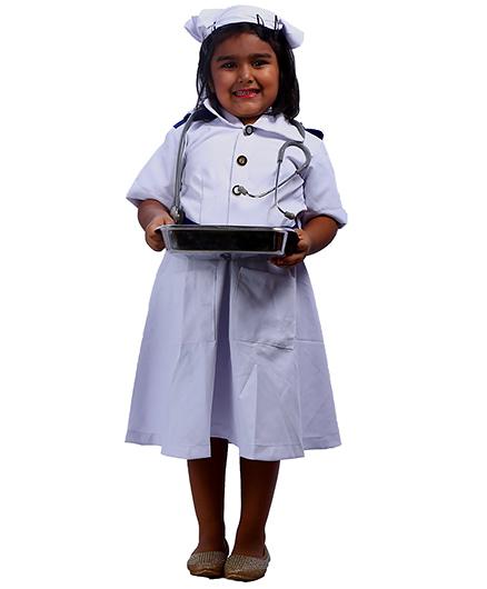 SBD Nurse Community Helper Fancy Dress Costume - White