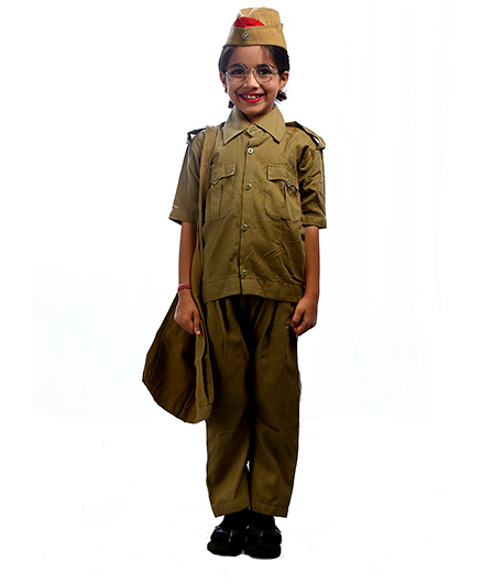 SBD Postman Community Helper Fancy Dress Costume - Khaki