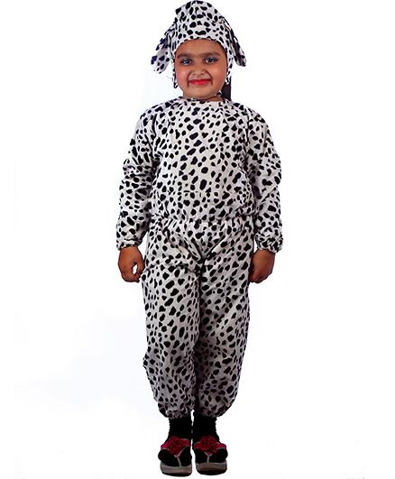 SBD Dog Fancy Dress Costume For Kids - White & Black