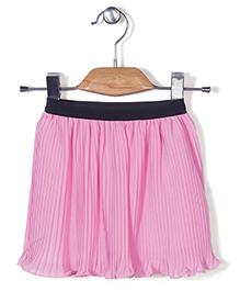 Chic Girls Flared Skirt - Pink