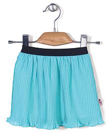 Chic Girls Flared Skirt - Aqua Blue