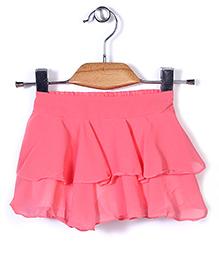 Chic Girls Stylish Skirt - Coral