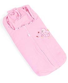 IQ Baby Family Sleeping Bag Bear Design - Pink
