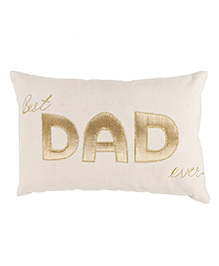 The Sprouts Cushion Dad Gold - Off White