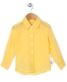 Chic Girls Casual Shirt - Yellow