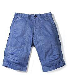 Enfant Stylish Casual Capri -  Blue