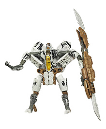 Emob Converts From Robot Mode To Fighter Plane Toy Multicolor - 21 Cm