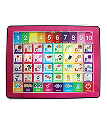 Emob Y Pad Touch Screen Musical Educational Tab For Kids - Multicolor