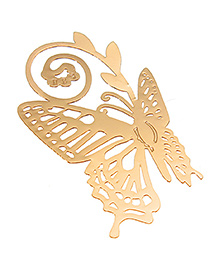 Studio Briana Golden Plated Metal Butterfly Bookmark
