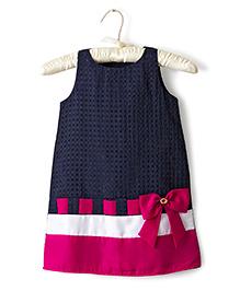 Nitallys A-Line Dress - Blue