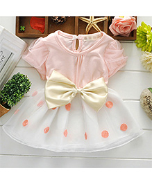 Pikaboo Mary's Party Wear Dress - Light Pink