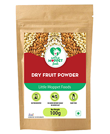 Little Moppet Baby Foods Dry Fruits Powder For Kids - 100 Gm
