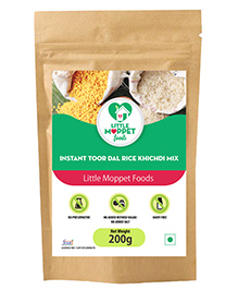 Little Moppet Baby Foods Instant Rice Khichdi With Toordal - 200 Gm