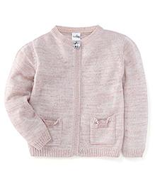 Babyhug Full Sleeves Sweater - Off White