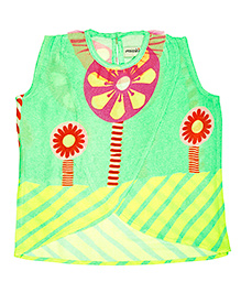 Masaba For Magic Fairy Jolly Rancher Crop Top - Sea Green
