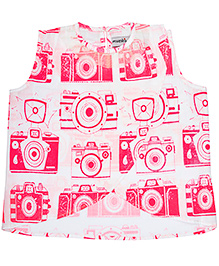Masaba For Magic Fairy Strawberry Cheesecake Crop Top - Pink